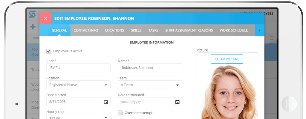 Complete Employee Information